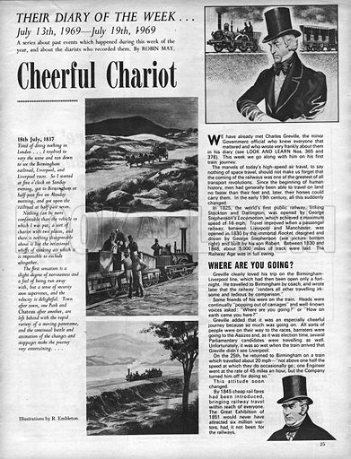 Their Diary of the Week: Cheerful Chariot.