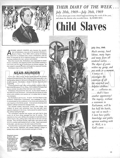Their Diary of the Week: Child Slaves.