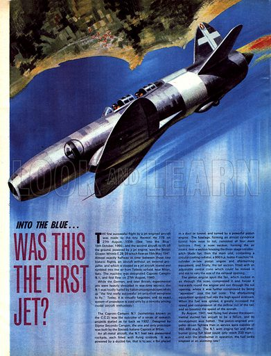 Into the Blue: Was This the First Jet?.