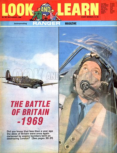The Battle of Britain – 1969. Scenes from the movie.