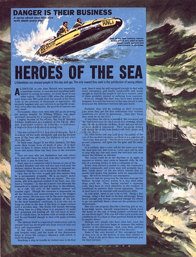 Danger Is Their Business: Heroes of the Sea.
