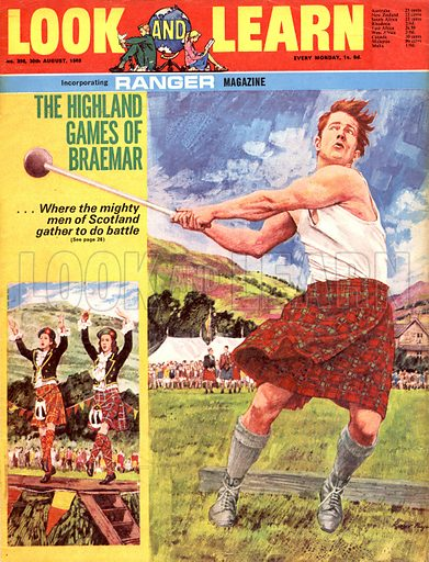 The Highland Games of Braemar.