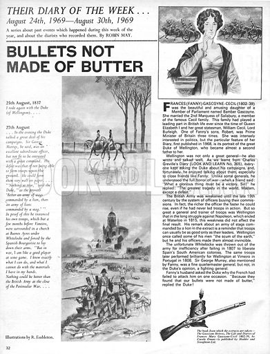 Their Diary of the Week: Bullets Not Made of Butter.