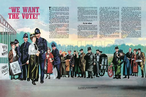"""How We Are Governed: """"We Want the Vote!""""."""