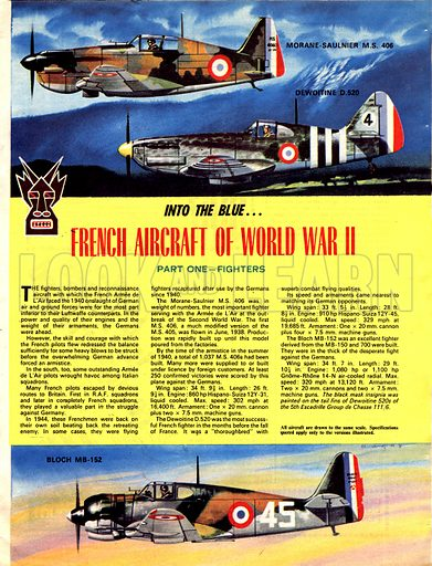 Into the Blue: French Aircraft of World War II.