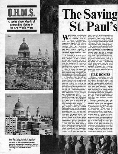 O.H.M.S.: The Saving of St. Paul's.
