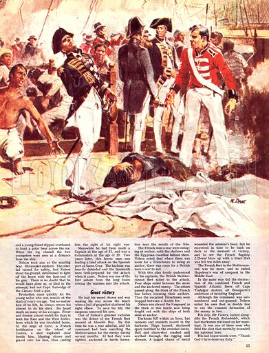 The Immoral Seaman. The story of Horatio Nelson.