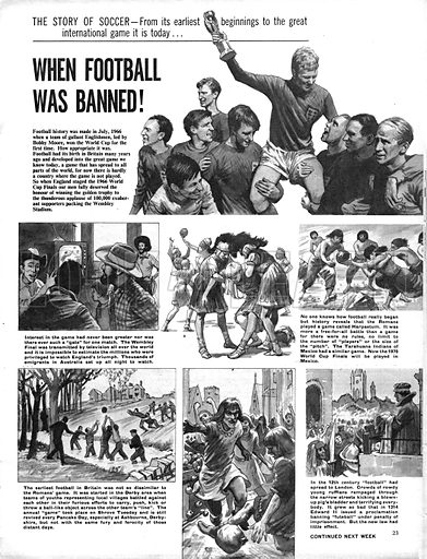 The Story of Soccer: When Football was Banned!.