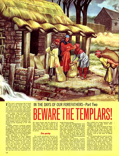 In the Days of Our Forefathers: Beware the Templars!.