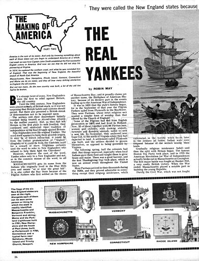 The Making of America: The Real Yankees.