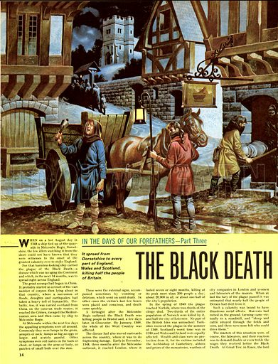 In the Days of Our Forefathers: The Black Death.