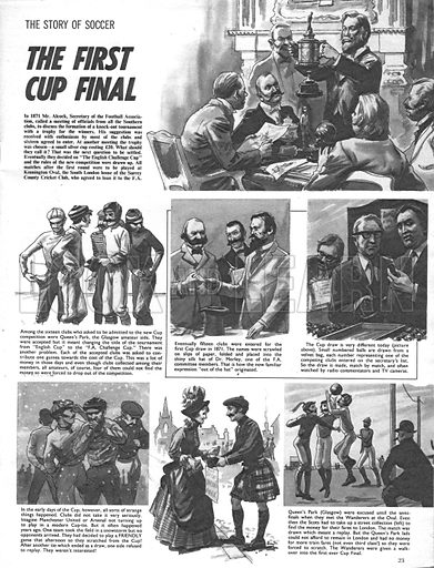The Story of Soccer: The First Cup Final.