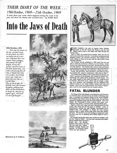 Their Diary of the Week: Into the Jaws of Death.