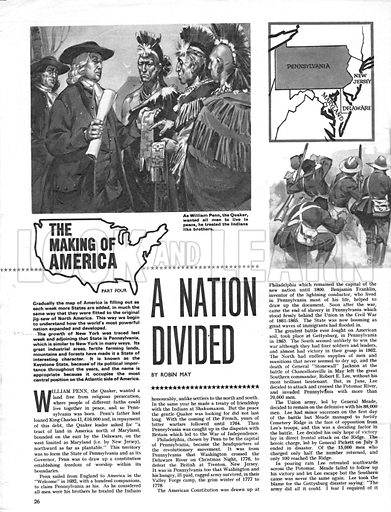 The Making of America: A Nation Divided.