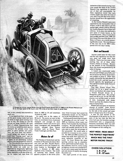 Men and Motors: The First Grand Prix.