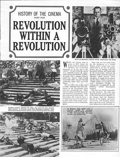 History of the Cinema: Revolution Within a Revolution.