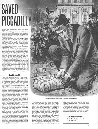 Appointment With Danger: The Man Who Saved Piccadilly.