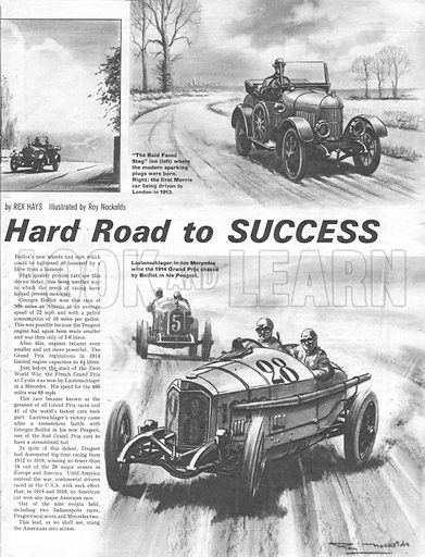 Men and Motors: The Hard Road to Success.