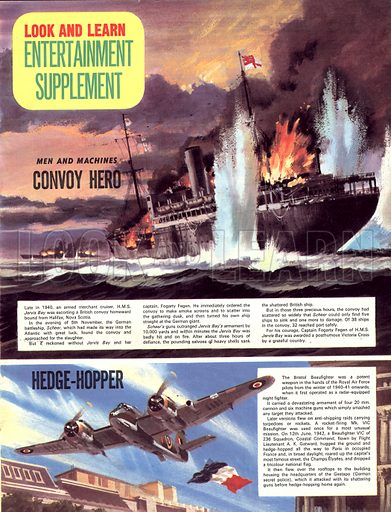 Men and Machines: Convoy Hero, plus, Hedge-Hopper.