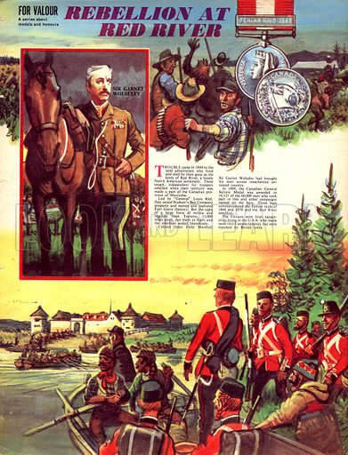 For Valour: Rebellion at Red River.