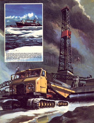 Oil Rush! The discovery of oil in Alaska.