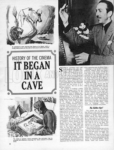 History of the Cinema: It Began in a Cave.