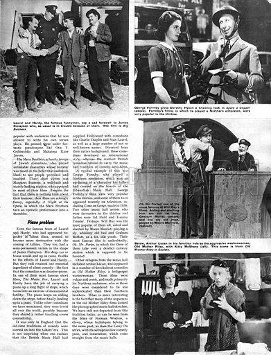 History of the Cinema: The Cruel Comedians.
