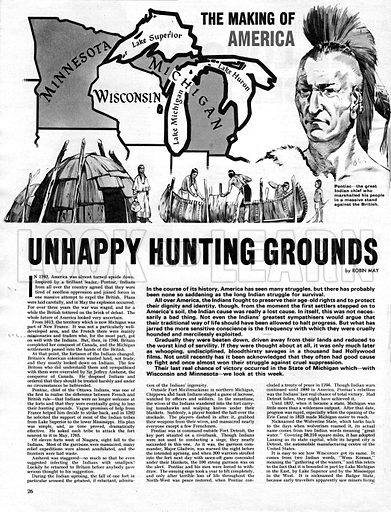 The Making of America: Unhappy Hunting Grounds.