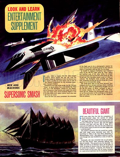 Men and Machines: Supersonic Smash, plus Beautiful Giant.