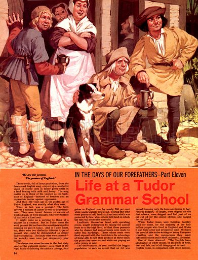 In the Days of Our Forefathers: Life at a Tudor Grammar School.