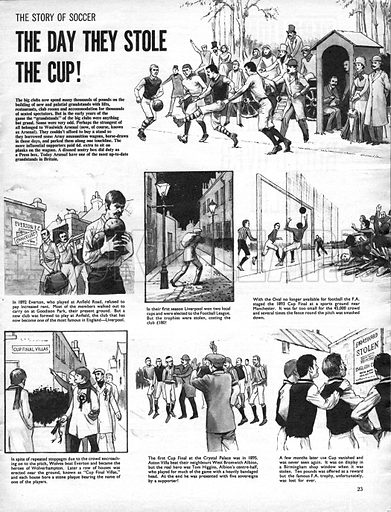 The Story of Soccer: The Day They Stole the Cup!.