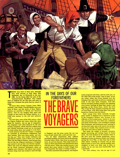 In the Days of Our Forefathers: The Brave Voyagers.
