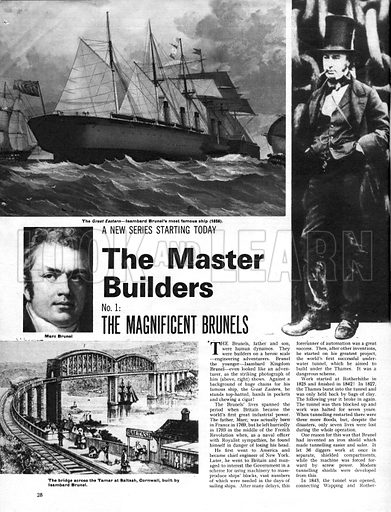 The Master Builders: The Magnificent Brunels.