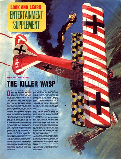 Men and Machines: The Killer Wasp.