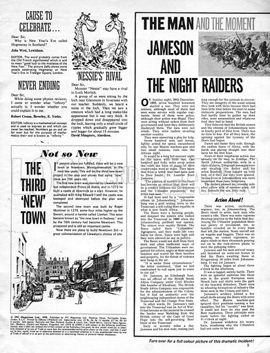 The Man and the Moment: Jameson and the Night Raiders.