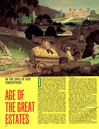 In the Days of Our Forefathers: Age of the Great Estates.