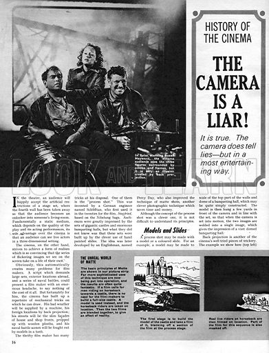 The History of Cinema: The Camera is a Liar!.