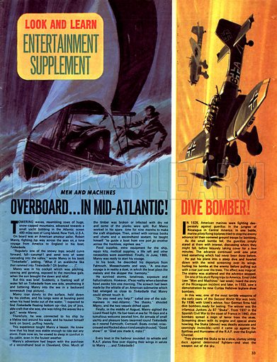 Men and Machines: Overboard... in Mid-Atlantic! plus Dive Bomber!.