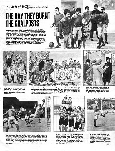 The Story of Soccer: The Day They Burnt the Goalposts.