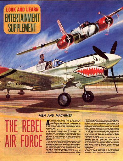 Men and Machines: The Rebel Air Force.