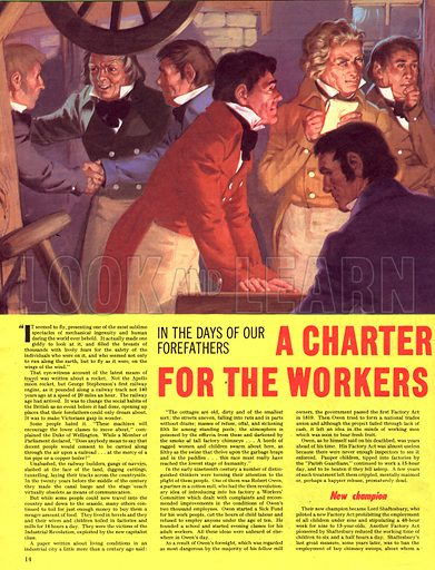 In the Days of Our Forefathers: A Charter for the Workers.