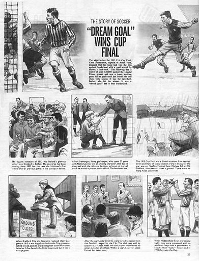 """The Story of Soccer: """"Dream Goal"""" Wins Cup Final."""