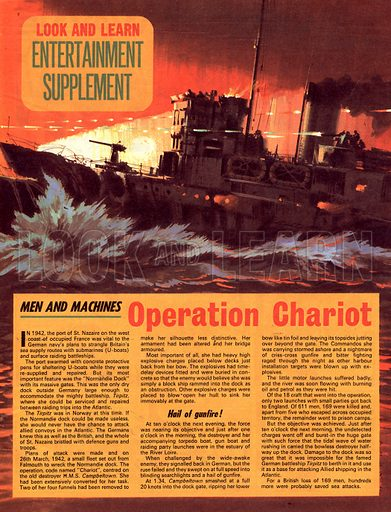 Men and Machines: Operation Chariot.