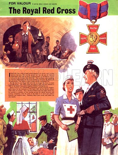 For Valour: The Royal Red Cross.