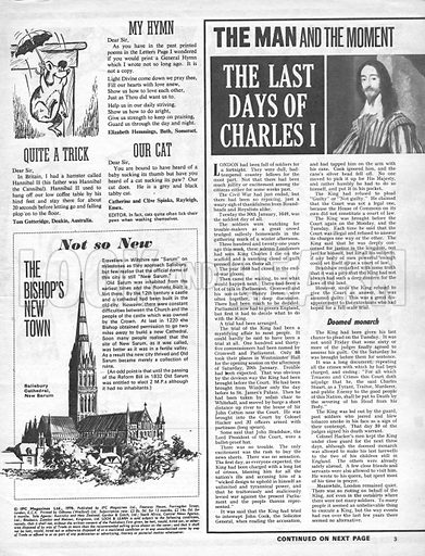 The Man and the Moment: The Last Days of Charles I.
