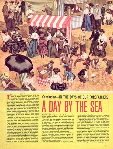 In the Days of Our Forefathers: A Day by the Sea.