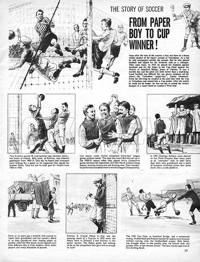 The Story of Soccer: From Paper Boy to Cup Winner!.