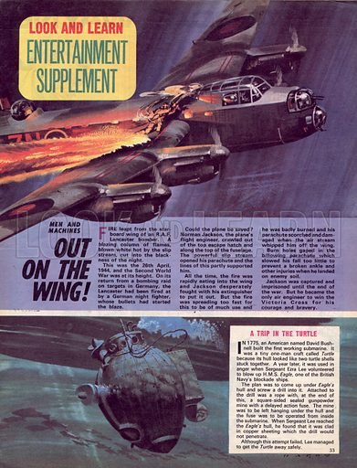 Men and Machines: Out on the Wing, plus A Trip in the Turtle.