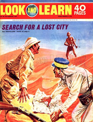 Search for a Lost City -- the search for the lost city of Kalahari.