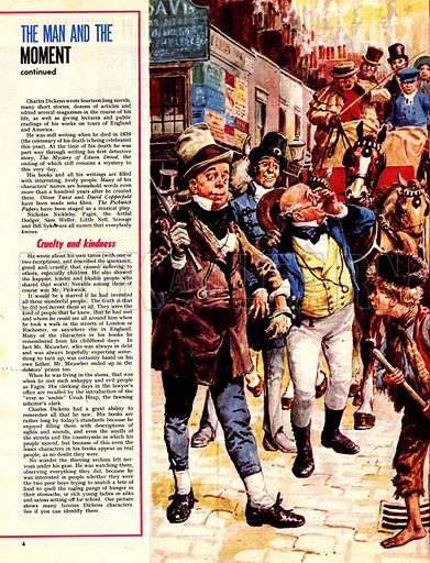 The Man and the Moment: Charles Dickens -- Friend of the Needy.